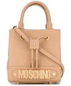 Moschino | Logo Plaque Crossbody Bag