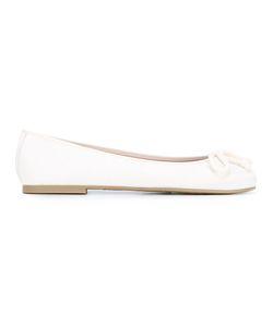 Pretty Ballerinas | Bow Detail Ballerinas 41 Leather/Polyamide/Rubber