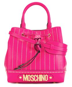 Moschino | Logo Letters Tote Leather/Metal