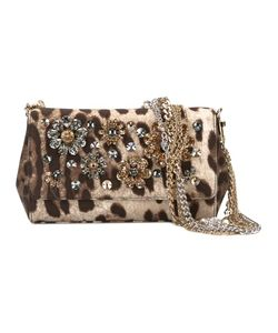 Dolce & Gabbana | Anna Clutch Polyester/Glass/Metal