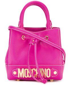 Moschino   Logo Plaque Cross-Body Bag