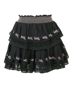LoveShackFancy | Embroidered Mini Skirt Size 0