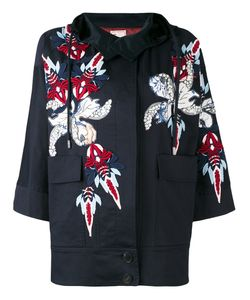 Antonio Marras | Appliquéd Hooded Jacket Size