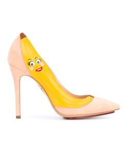 Charlotte Olympia | Banana Print Pumps
