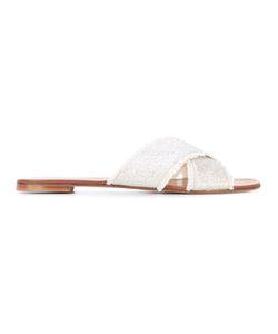 Stuart Weitzman   Embroidered Sandals