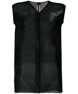 Rick Owens | Knitted Striped Panel Top