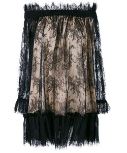 Alexander McQueen | Off The Shoulder Lace Dress