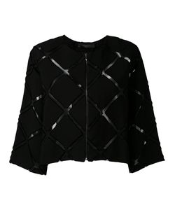 Federica Tosi | Sheer Cut-Detail Cropped Blazer