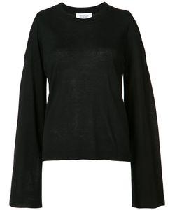 Derek Lam 10 Crosby   Bell Sleeve Knitted Blouse