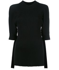 Eudon Choi | Cropped Sleeves Jumper
