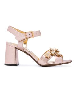 L' Autre Chose | Embellished High Heel Sandals