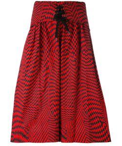 Yang Li | Oversized Drawstring Bermuda Shorts