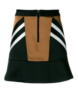 Neil Barrett | Panelled Satin Mini Skirt Size 38