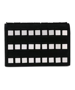TOMASINI | Square Studded Clutch