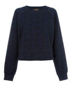 Vivienne Westwood Anglomania | Embroidery Sweatshirt Medium Cotton/Polyamide/Spandex/Elastane/