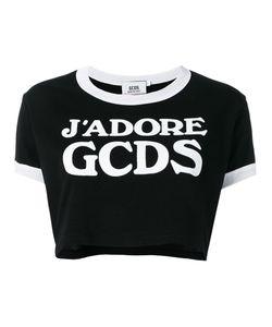 Gcds   Logo Cropped T-Shirt Size Xs