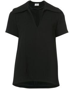 Co   Flared Short Sleeve Blouse Women