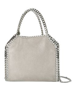 Stella Mccartney | Mini Falabella Tote Polyester/Silk/Metal