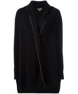 N.PEAL | Bead-Embellished Shawl Collar Cardigan Size Small
