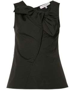 Carolina Herrera | Sleeveless Bow Neck Blouse