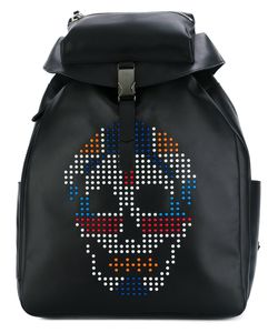 Alexander McQueen | Skull-Embellished Backpack Calf Leather/Plastic
