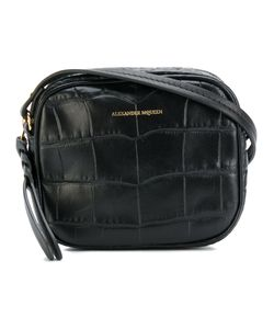 Alexander McQueen | Croc Effect Crossbody Bag