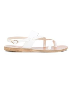 ANCIENT GREEK SANDALS | Alethea Flat Sandals Women Leather/Bos
