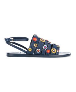 Tory Burch | Marguerite Flat Sandals Size 9.5