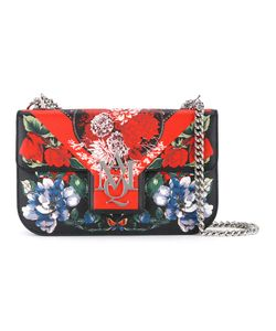 Alexander McQueen | Print Shoulder Bag Calf Leather