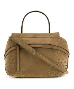 Tod'S | Small Wave Tote Calf Suede