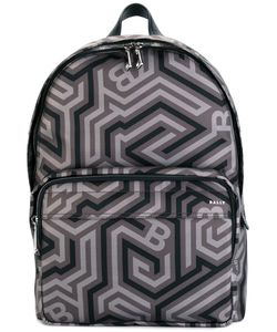 Bally | Printed Backpack Nylon