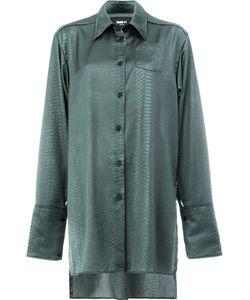 Yang Li | Croc-Effect Shirt