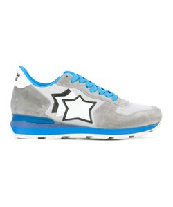ATLANTIC STARS | Star Logo Lace-Up Sneakers Size Chamois