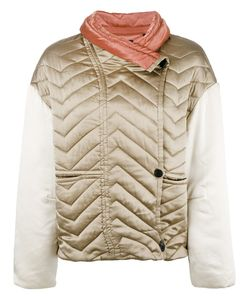 Isabel Marant | Hector Padded Jacket 38 Silk/Polyester/Cotton
