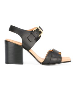 Cotélac   Chunky Heel Buckled Sandals Size 40