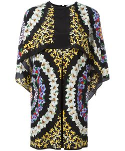 MSGM | Print Cape Dress 40 Silk