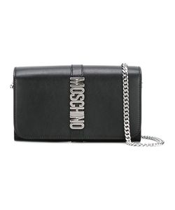 Moschino | Letters Clutch Calf Leather/Metal Other