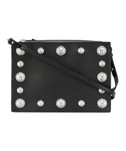 Versus | Studded Shoulder Bag Calf Leather/Cotton