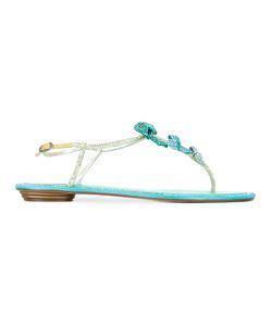 Rene' Caovilla | René Caovilla Bow Embellished Sandals