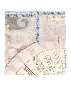 Faliero Sarti | Lettering Print Scarf Womens Modal/Cotton/Silk