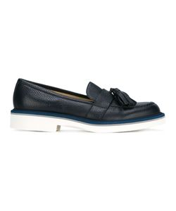 Baldinini | Platform Tassel Loafers 38 Calf Leather/Leather/Rubber