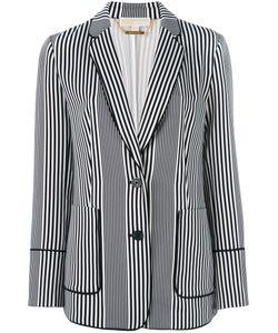 Michael Michael Kors | Striped Blazer 4 Polyester/Spandex/Elastane
