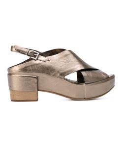 Roberto Del Carlo | Laminato Sandals Size 36