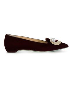 GIANNICO | Lips Pointed Loafers Women 38