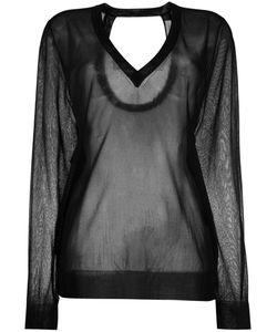 Christian Wijnants | Sheer V-Neck Sweater