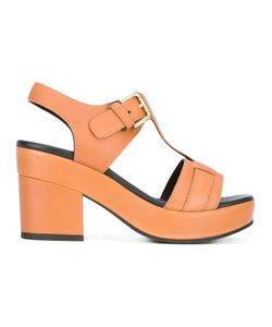 Cotélac   Platform Buckled Sandals Size 37