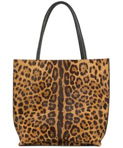 B MAY | Leopard Print Tote Bag Women Leather/Pony