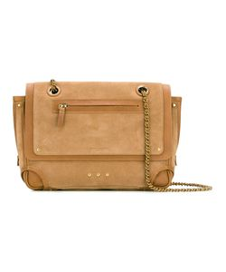 Jerome Dreyfuss | Jérôme Dreyfuss Benji Crossbody Bag Nubuck Leather