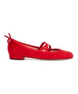 Stuart Weitzman | Bolshoi Ballerinas 36.5 Leather/Suede