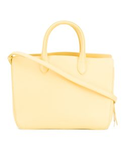 Jil Sander | Embossed Logo Tote Bag